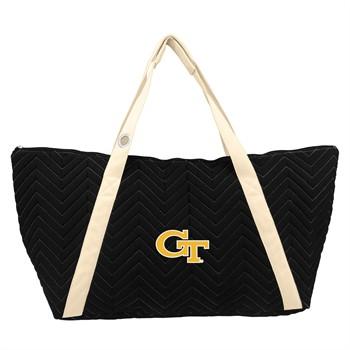 Georgia Tech Yellow Jackets Chevron Stitch Weekender Bag