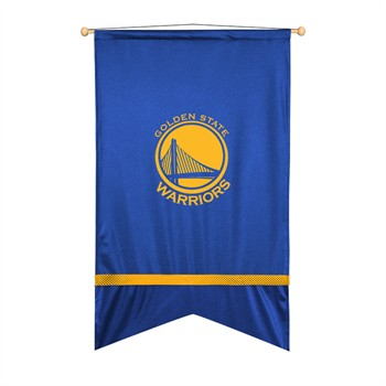 Golden State Warriors Sidelines Wall Flag
