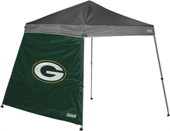 Green Bay Packers 10' x 10' Slant Leg Canopy Wall
