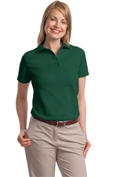 Hanes Custom Women's Pique Knit Polo