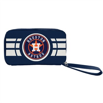 Houston Astros Ripple Zip Wallet