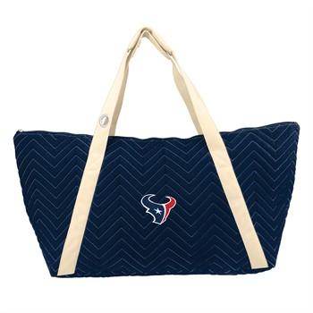 Houston Texans Chevron Stitch Weekender Bag