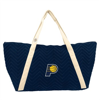 Indiana Pacers Chevron Stitch Weekender Bag