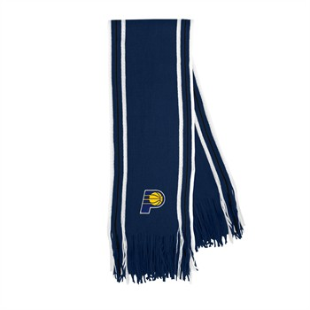 Indiana Pacers Stripe Fringe Scarf