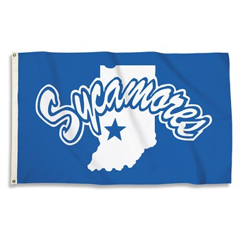 Indiana State Sycamores 3' x 5' Flag