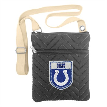 Indianapolis Colts Crest Chevron Crossbody Bag