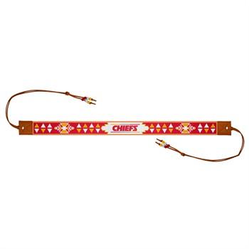 Kansas City Chiefs Beaded Headwrap