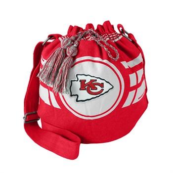 Kansas City Chiefs Ripple Drawstring Bucket Bag