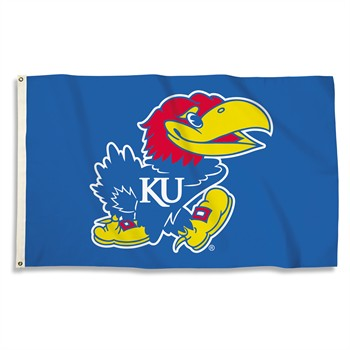 Kansas Jayhawks Logo 3' x 5' Flag