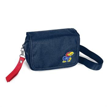 Kansas Jayhawks Ribbon Waist Pack Purse