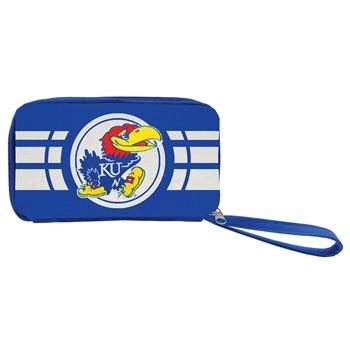 Kansas Jayhawks Ripple Zip Wallet