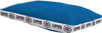 "Los Angeles Clippers 26"" x 37"" Dog Bed"