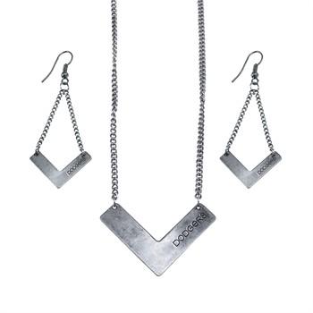 Los Angeles Dodgers Chevron Jewelry Set