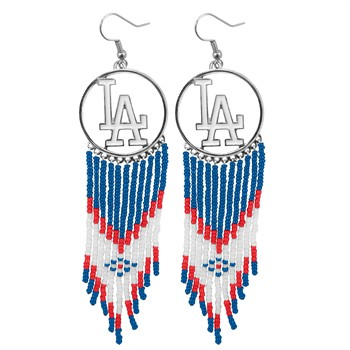 Los Angeles Dodgers Dreamcatcher Earrings