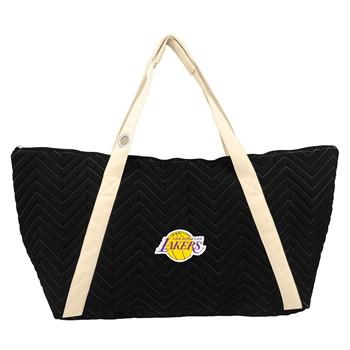 Los Angeles Lakers Chevron Stitch Weekender Bag