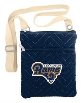 Los Angeles Rams Alternate Chevron Stitch Crossbody Bag