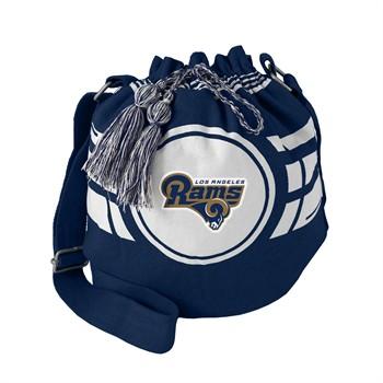 Los Angeles Rams Ripple Drawstring Bucket Bag