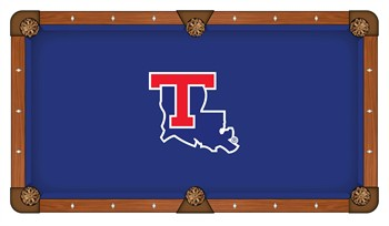 Louisiana Tech Bulldogs Pool Table Cloth
