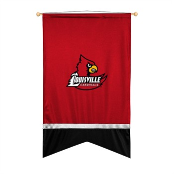 Louisville Cardinals Sidelines Wall Flag