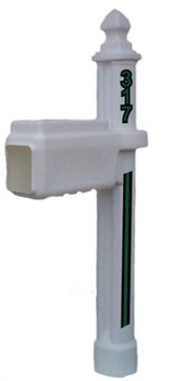 Marshall Thundering Herd Football Helmet Mailbox Pole