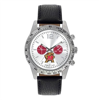 Maryland Terrapins Men's Letterman Watch