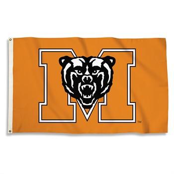 Mercer Bears Orange 3' x 5' Flag
