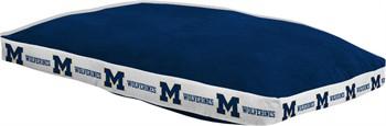 "Michigan Wolverines 26"" x 37"" Dog Bed"