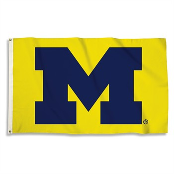 Michigan Wolverines Maize 3' x 5' Flag