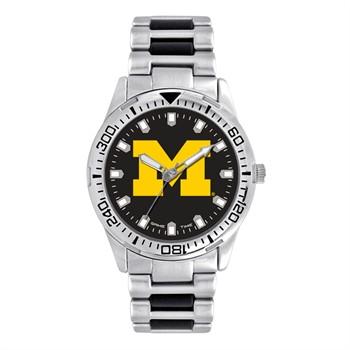 Michigan Wolverines Men's Heavy Hitter Watch