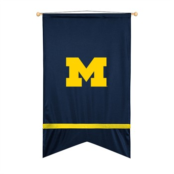 Michigan Wolverines Sidelines Wall Flag
