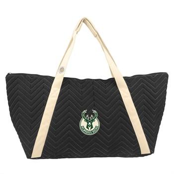 Milwaukee Bucks Chevron Stitch Weekender Bag