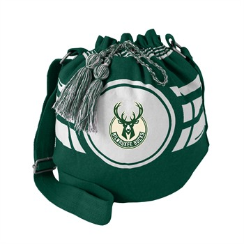 Milwaukee Bucks Ripple Drawstring Bucket Bag