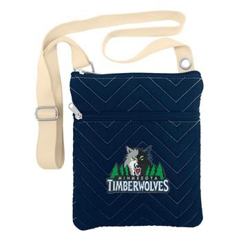 Minnesota Timberwolves Chevron Stitch Crossbody Bag