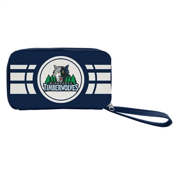 Minnesota Timberwolves Ripple Zip Wallet