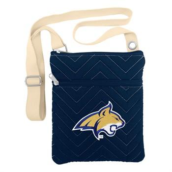 Montana State Bobcats Chevron Stitch Crossbody Bag