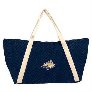 Montana State Bobcats Chevron Stitch Weekender Bag