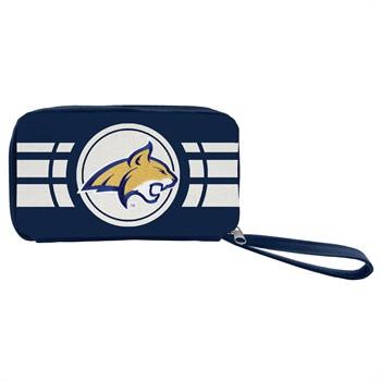 Montana State Bobcats Ripple Zip Wallet