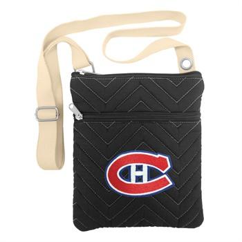 Montreal Canadiens Chevron Stitch Crossbody Bag