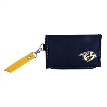 Nashville Predators Ribbon Organizer Wallet