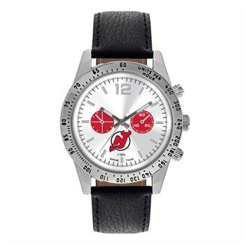 New Jersey Devils Men's Letterman Watch