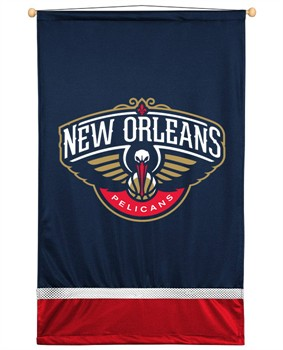 New Orleans Pelicans Sidelines Wall Hanging