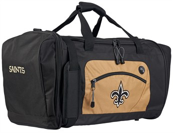 New Orleans Saints Roadblock Duffle Bag