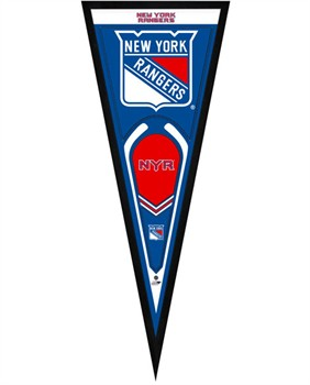 New york rangers framed pennant