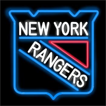 New york rangers neon sign