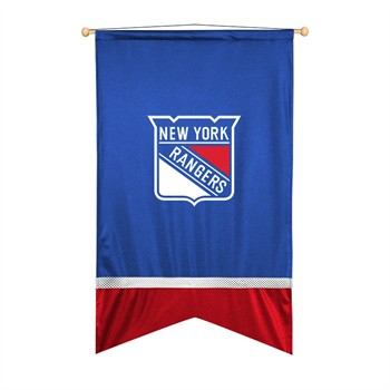 New York Rangers Sidelines Wall Flag