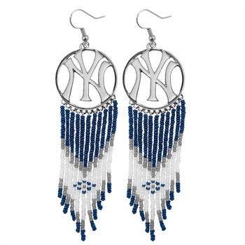 New York Yankees Dreamcatcher Earrings