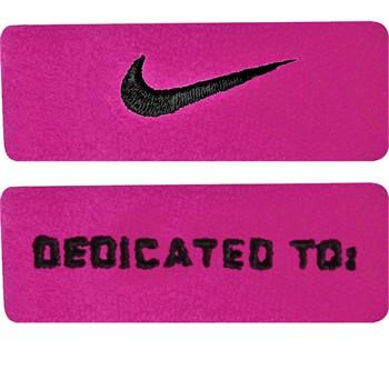 Nike Swoosh Bicep Bands - Pink / Black