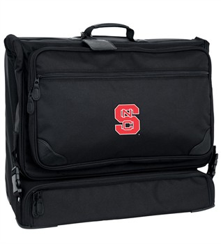 North Carolina State Wolfpack NCAA Signature Series Deluxe Wheeled Garment Bag