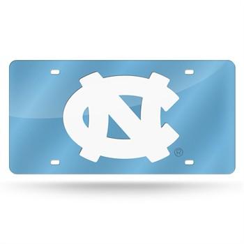 North Carolina Tar Heels Laser Cut License Plate