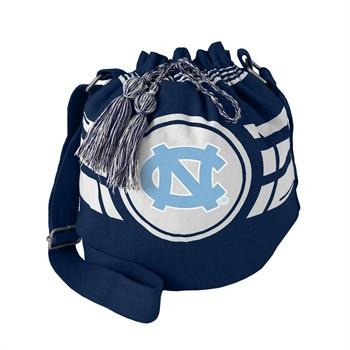 North Carolina Tar Heels Ripple Drawstring Bucket Bag